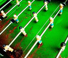 lines colors fooz ball