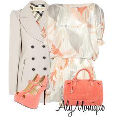 Diane Von Furstenberg dresses, Burberry coats and Vintage Princess handbags.