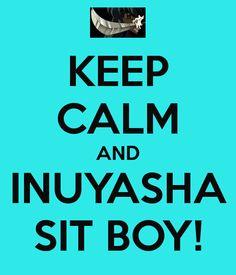 Sit boy!