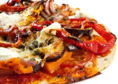 Grilled Vegetable Pizza - Foodie Recipe - American Diabetes Association