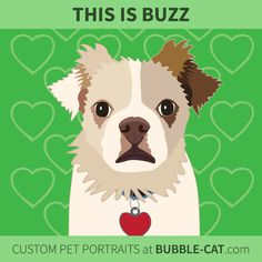 Custom Pet Portraits by Jen Kent at Bubble Cat. Illustrations done from photos of your pet, specializing in cats and dogs Bubble Cat, Gift Drawing, Cat Illustrations, Memorial Gifts, Dog Photos, Pet Portraits, Tigger, Dog Cat, Art Prints