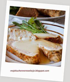 Moje Kuchenne Rewelacje : Polędwiczki wieprzowe w sosie chrzanowym