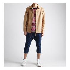 남녀공용 면 코치 자켓-jacket35 - [존클락]30대 남자옷쇼핑몰, 깔끔한 캐쥬얼 데일리룩, 추천코디