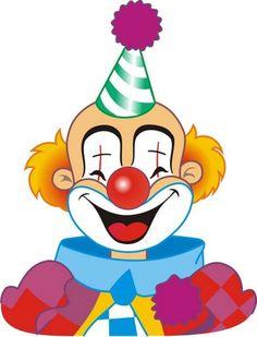 quenalbertini: Tita K - Picasa Web Albums Circus Baby, Circus Clown, Circus Birthday, Circus Theme, Le Clown, Clown Faces, Joker Face Drawing, Drawing For Kids, Art For Kids
