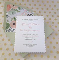 Bridesmaid Luncheon Bridesmaid Breakfast by TwoBitMercantile