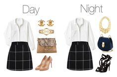 """""""Day to Night #2"""" by alvinaginting on Polyvore featuring Lacoste, Chloé, Chanel, Christian Louboutin, MICHAEL Michael Kors and Marco Bicego"""