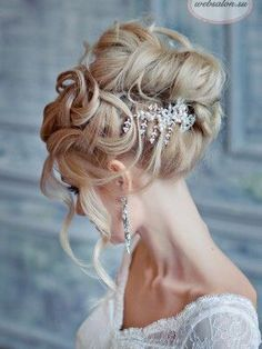 Cinderella - pompöse Frisur