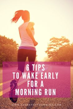 6 tips to wake early for a morning run (and the benefits) - 366 Days of Running Running Routine, Running Plan, Running Tips, Health And Wellness Coach, Health And Fitness Tips, Fitness Hacks, Women's Fitness, Running Training Programs, Race Training