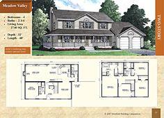Two Story - Meadow Valley Modular Home Floor Plans, House Floor Plans, 2 Story Modular Homes, Stratford Homes, Work Desk, Second Story, Vanity Sink, Sinks, Countertop