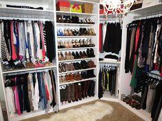 turn a room into a closet | NEW CLOSET REVEAL! ...and Video Tour