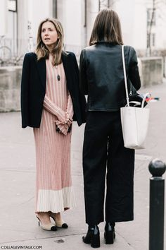 Best Street Style Looks of PFW Fall 2017