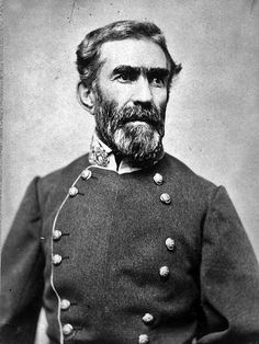 Braxton Bragg, for whom Fort Bragg in North Carolina is named. Description from…