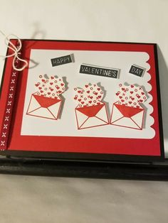 Stampin' Up! Valentine Ideas, Valentine Day Cards, Happy Valentines Day, Holiday Cards, Stampin Up Paper Pumpkin, Pumpkin Cards, Bug Crafts, Pumpkin Ideas, January 2018