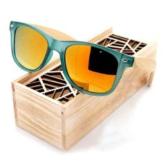 Hot Selling Bamboo Wood Sunglasses  & FREE Shipping Worldwide //$26.38    #appleiphone #electronics
