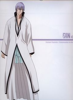 Ichimaru gin from bleach Gin Bleach, Bleach Manga, Manga Love, Anime Love, Rwby Sun, Ichimaru Gin, Rangiku Matsumoto, Bleach Characters, Cartoon Man