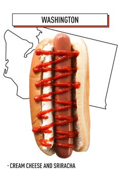 We're not sure what we were thinking when we covered our Washington state with a thick slab of cream cheese and a generous drizzle of sriracha. What we do know, however, is that this strange combination is out of this world good.   - Esquire.com