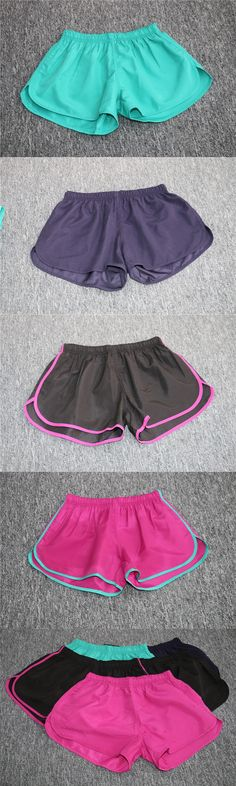 Summer Women Running Shorts Quick Dry Sport Shorts Yoga Shorts Female Sexy Workout Shorts Fitness Gym Freen Shipping 100pcs DHL