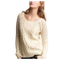Cozy and Cute Cable Knit Sweaters | WomansInSite.com