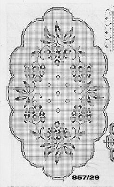 This Pin was discovered by Nes Crochet Boarders, Crochet Lace Edging, Crochet Doily Patterns, Crochet Cross, Crochet Home, Crochet Designs, Crochet Doilies, Crochet Flowers, Crochet Stitches