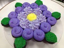 Flower Cupcake Cake More