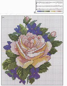 Many roses...Gallery.ru / Фото #74 - разные цветочные схемы - irisha-ira