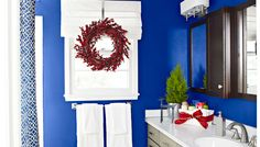 Refresh your bathroom for holiday guests with an easy update and a few added accessories.