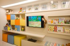 Clean playroom