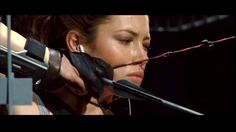 Jessica Biel in Blade 3 I Volunteer As Tribute, Jessica Biel, Poses, Movies Showing, Martial Arts, Photoshoot, Blade 3, Archery, Image