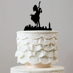 Romantic Wedding Cake Topper (Happiest Bride Groom Dance &Celebrate) – CHARMERRY
