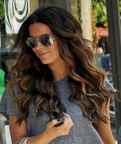 2017 Vibrant Brown Hair Color with Highlights | Trendy Hairstyles 2017 / 2017 for long,