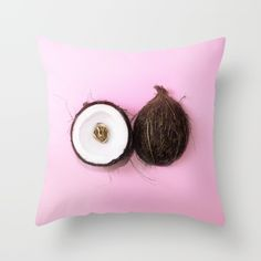 """""""LET'S GO COCO NUTS! 2 (without text)""""  $20.00  https://society6.com/product/lets-go-coco-nuts-2-without-text_pillow#25=193&18=126  MADE BY: NAOMI ROTHENGATTER - DIAZ"""