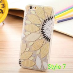 2016 Cute Cartoon Pattern Silicone Cases Or Covers For iPhone 6S And 6S Plus IP6S02 | Cheap Cell-phone Case With Keyboard For Sale