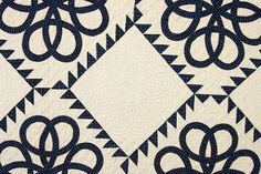 Celtic Knots Quilt: Circa 1870; Pennsylvania