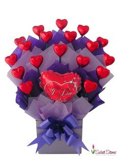 Sweet Love Chocolate Bouquet