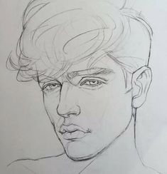 Image about boy in art by juvi on we heart it Pencil Art Drawings, Art Drawings Sketches, Easy Drawings, Boy Sketch, Face Sketch, Art Du Croquis, Boy Drawing, Drawing Faces, Face Illustration
