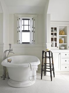 Tub and shutters