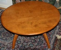 Genial Vintage Heywood Wakefield Lazy Susan Coffee Table  This Table, Very Similar  To Mine,