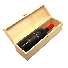 Weinkiste mit Gravur | frei gestalten | Klappdeckel