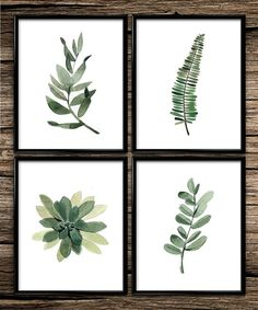 Watercolour Botanical | Modern Prints | Botanical Prints | Home Decor | Office Decor | Printable Wall Art | 8x10 | Instant Download |