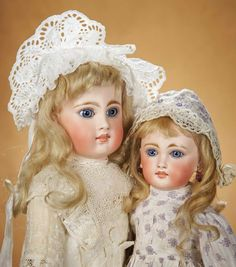 Early Sonneberg Bisque Doll, Model 136, by Mystery Maker 800/1100 Auctions Online | Proxibid