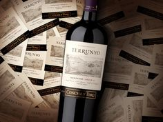 Terrunyo comes from the selection of a specific block of our best in which we have identified a unique and complex character in each variety selected. This line included the first ultra-premium becoming a benchmark for the Chilean industry. Challenge, Chilean Wine, Ultra Premium, Vineyard, How To Become, Bottle, Dory, Unique, Character