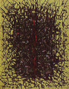 A Árvore 1955   Antonio Bandeira óleo sobre tela, c.i.d. 127.00 x 101.00 cm Coleção Gilberto Chateaubriand - MAM RJ