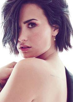 Demi Lovato poses for Cosmopolitan Magazine, September 2015 Photoshoot