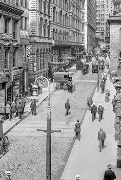U.S. Street scene, Boston MA, 1906