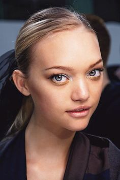 Gemma Ward is adorable. don& get me started& Blush Makeup, Prom Makeup, Wedding Makeup, Beauty Makeup, Hair Makeup, Hair Beauty, Runway Makeup, Beauty Box, Perth
