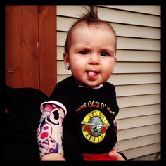 Punk rock baby | Costumes | Pinterest | Punk rock baby Punk rock and Punk  sc 1 st  Pinterest & Punk rock baby | Costumes | Pinterest | Punk rock baby Punk rock ...