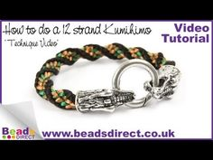 Learn how to make a 12 strand Kumihimo bracelet. Watch Claire show you how simple it is!   Remember to subscribe to the Beads Direct Youtube channel to be the first to know about the latest jewellery making tutorials http://www.youtube.com/user/BeadsDirectTV