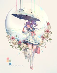 No Flowers Without Rain by Nyanfood.deviantart.com on @DeviantArt