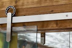 simple sliding door hardware (Krown Lab)