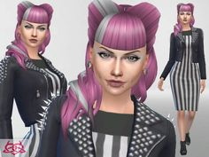 The Sims Resource: Psychobilly Set by Colores Urbanos • Sims 4 Downloads